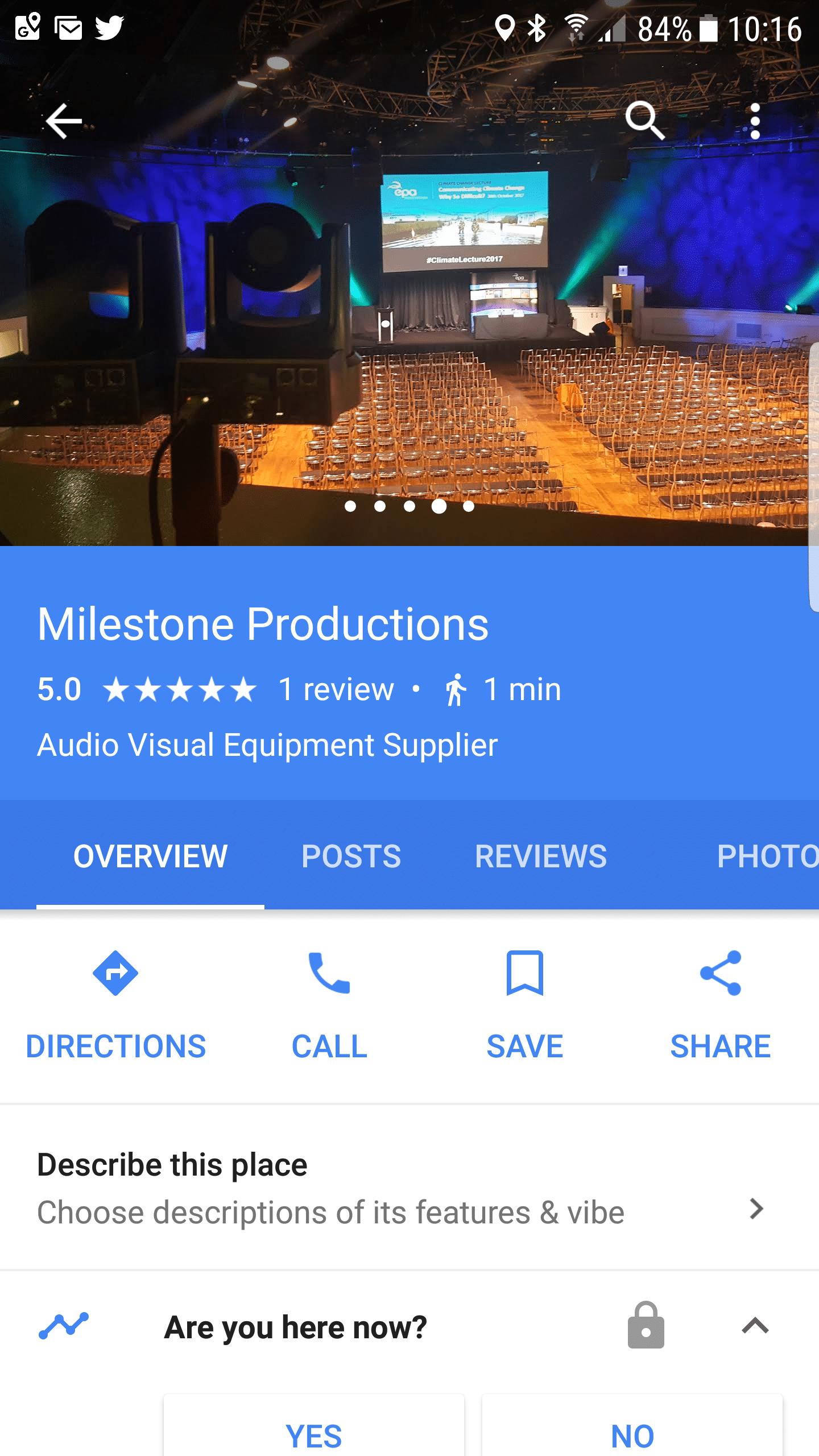 google places service